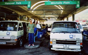 Minibus Taxis in Cape Town