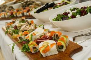 Sushi at Blowfish Restaurant