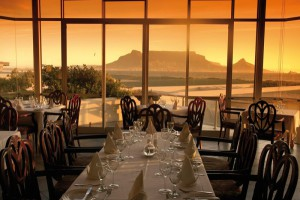 View from Blowfish Restaurant in Cape Town