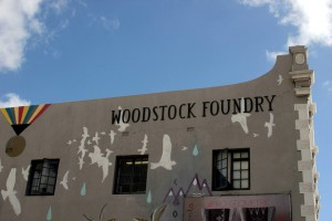 Outside face of The Woodstock Foundry