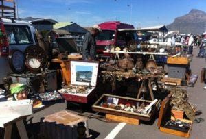 stall at muizenberg flea market