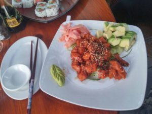 Food at thorfynn's restaurant